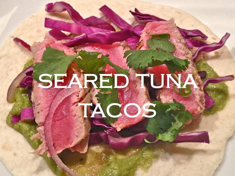 Seared Tuna Taco