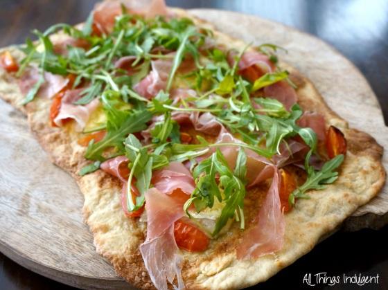 Proscuitto Brie Flatbread
