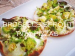 Brussels Sprout Pita Pizza Recipe