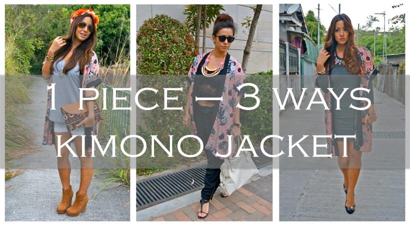 How to style kimono