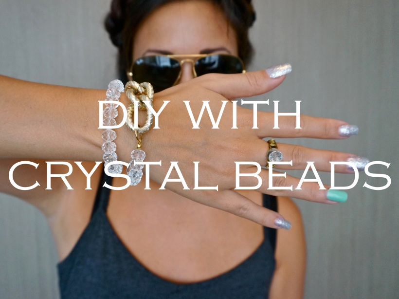 DIY with Crystal Beads on All Things Indulgent