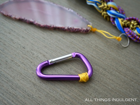 DIY Chanel Keychain Carabiner