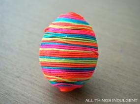 DIY Rainbow Easter Eggs
