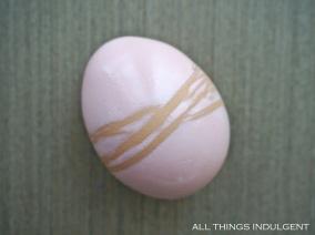 DIY Dyed Easter Egg