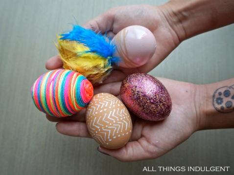 DIY Easter Eggs tutorial