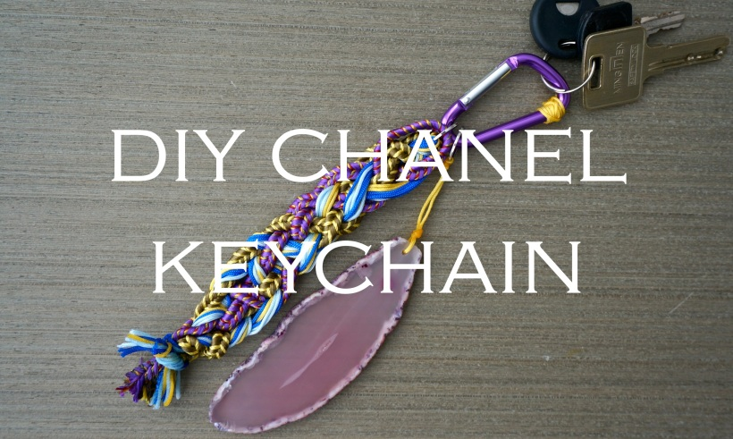 DIY Chanel Keychain Tutorial