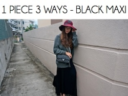 Box_1 PIECE 3 WAYS_BLACK MAXI